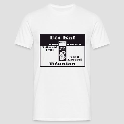 T-shirt Classique Homme Fet Kaf - 20 désamb - T-shirt Homme
