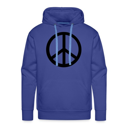 Sweather for Man peace - Mannen Premium hoodie