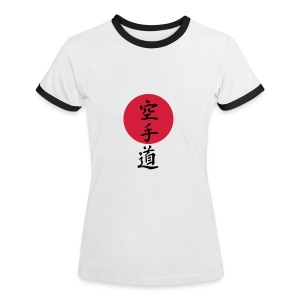 Karate - Frauen Kontrast-T-Shirt