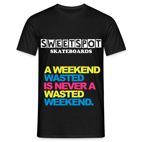 weekend wasted Tee - Men's T-Shirt