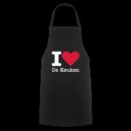 Kookschorten ~ Keukenschort ~ I Love De Keuken Schort