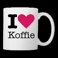 Mokken & toebehoor ~ Mok ~ I Love Koffie Mok