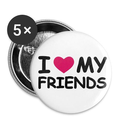 Fan - Button - Buttons mittel 32 mm