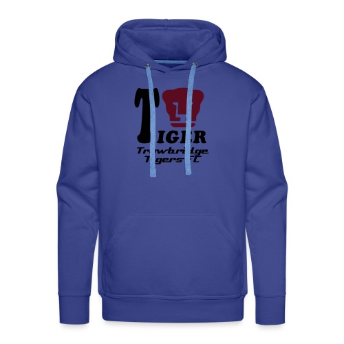 Tiger Blue Hooded Top - Men's Premium Hoodie