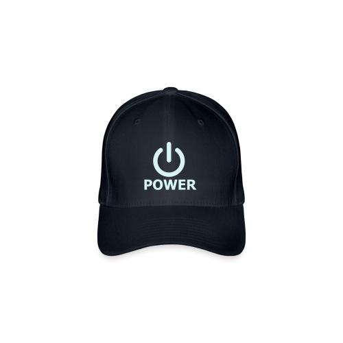 Baseball Cap - Power Logo - Flexfit Baseball Cap