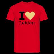 T-shirts ~ Mannen T-shirt ~ I Love Leiden