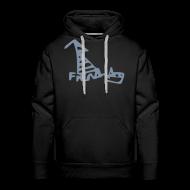 Hoodies & Sweatshirts ~ Men's Premium Hoodie ~ French Dog Men's Hoodie