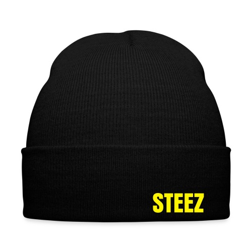 STEEZ Beanie (BLACK)  - Winter Hat