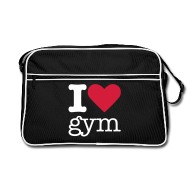 Tassen & rugzakken ~ Retro-tas ~ I Love Gym