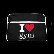 Tassen & rugzakken ~ Retro-tas ~ I Love Gym