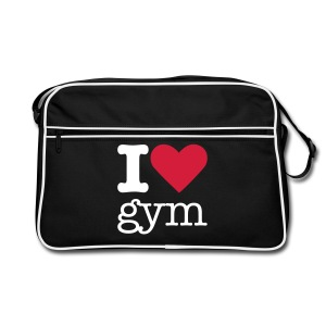 I Love Gym - Retro-tas