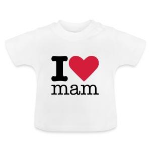 I Love Mam Babyshirt - Baby T-shirt