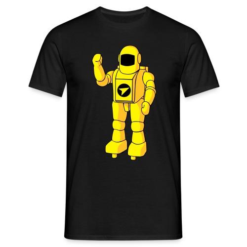 Camiseta Astro (Negra) - Camiseta hombre