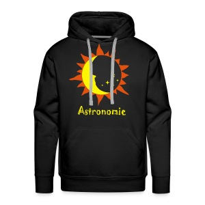 Astro-Logo 2 - Kapuzenshirt BYO - Männer Premium Hoodie