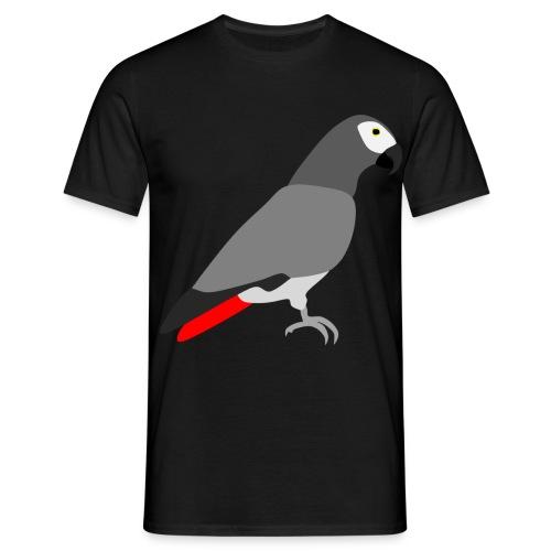 Grijze Roodstaart - Mannen T-shirt