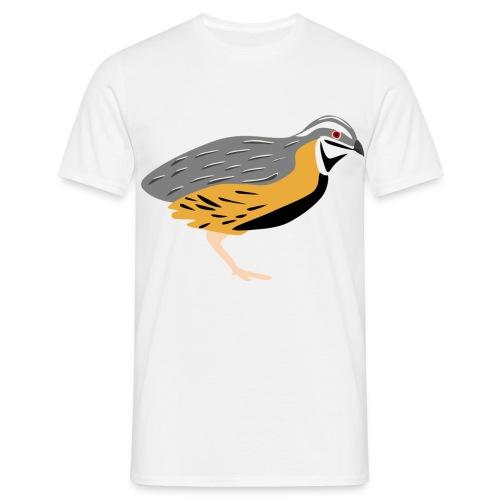 Kwartel - Mannen T-shirt