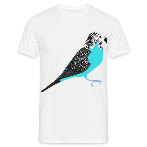 Grasparkiet - Mannen T-shirt