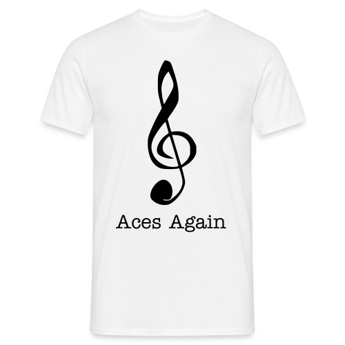 T Shirt Aces Again - Mannen T-shirt