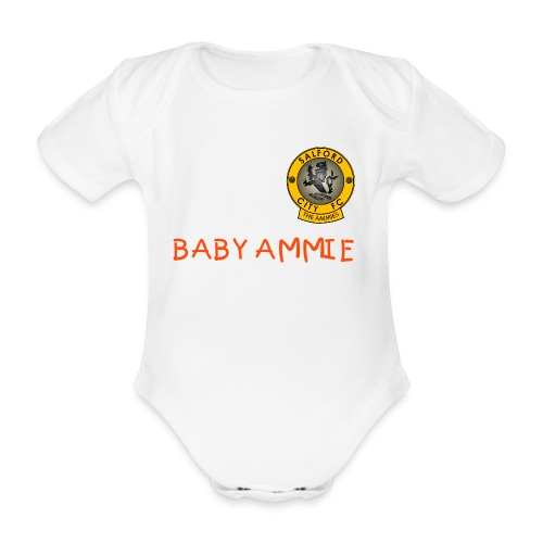 BABY AMMIE BABY GROW - Organic Short-sleeved Baby Bodysuit
