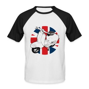 2 cool brit - Men's Baseball T-Shirt