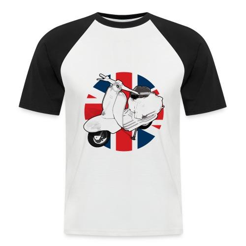 2 cool brit - Men's Baseball T-Shirt