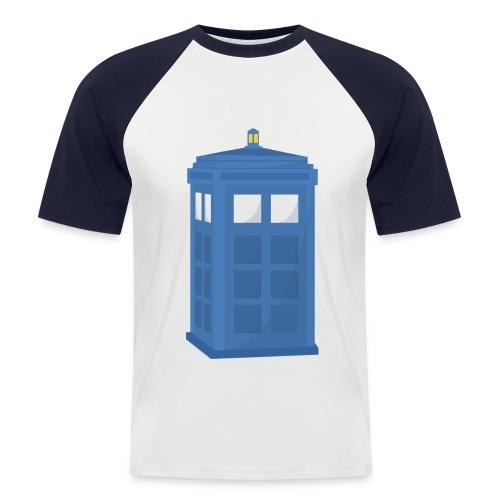 who? - Men's Baseball T-Shirt