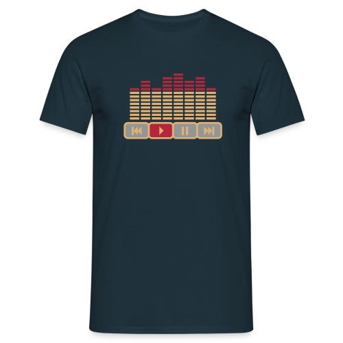 Play the Tape to Blood -  Männer T-Shirt (klassisch) - Männer T-Shirt