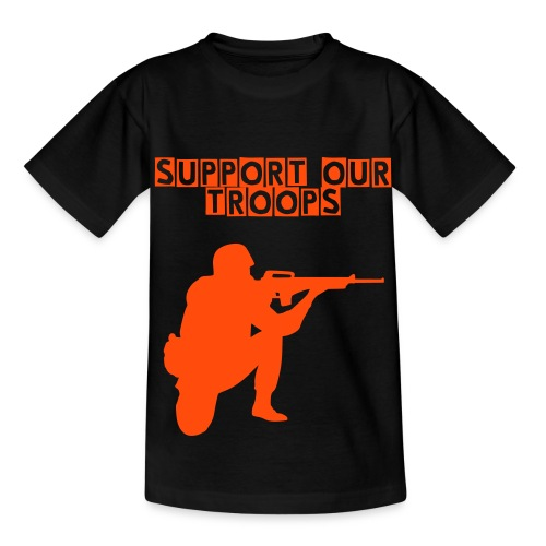 Support Our Troops Kids - Teenage T-shirt