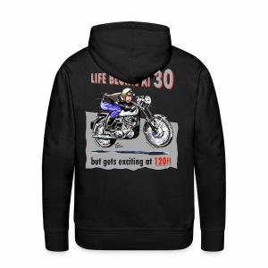 Life begins at 30 - Men's Premium Hoodie