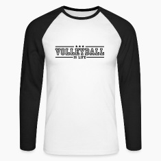 volleyball is life deluxe Shirts med lange ærmer