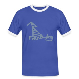 French Dog Men's Football Fan Shirt - Men's Ringer Shirt