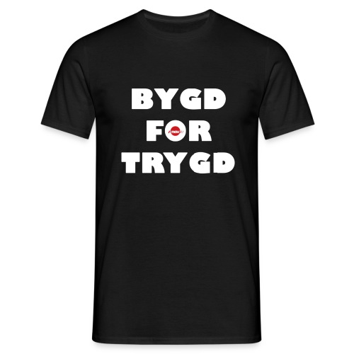 Bygd for trygd - Men's T-Shirt