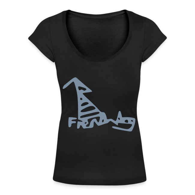 French Dog Women's Scoop Neck T-shirt
