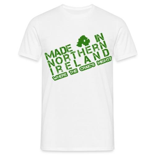 Made in N I men's t-shirt - Men's T-Shirt