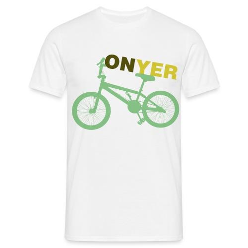 On yer bike Men's t-shirt - Men's T-Shirt