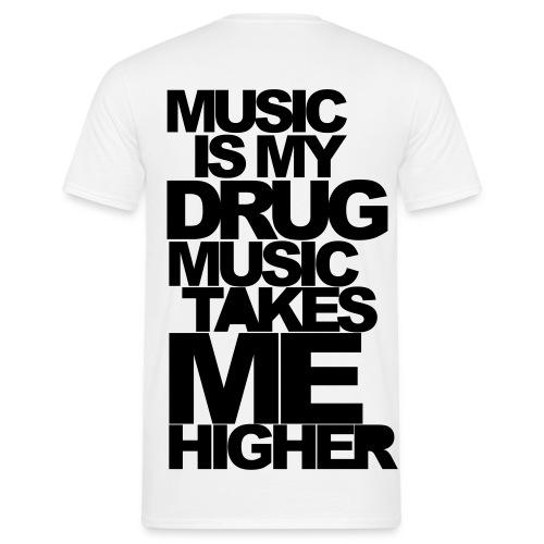Music lover - Herre-T-shirt
