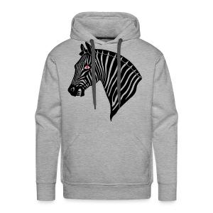 Evil Zebra - Kapuzenshirt GBR - Männer Premium Hoodie