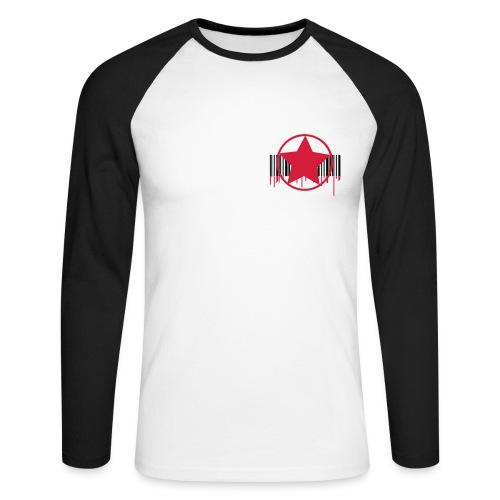 tee-shirt manche longues baseball - T-shirt baseball manches longues Homme