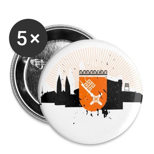 Bremen Silhouette - Buttons klein 25 mm