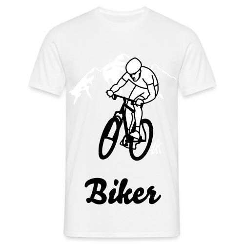 biker special t-shirt - T-shirt herr