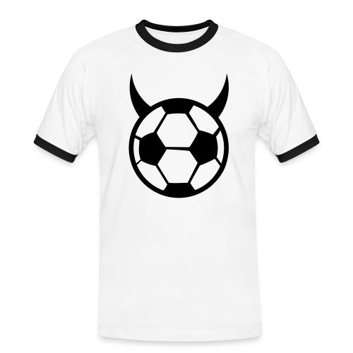 boss - Kontrast-T-skjorte for menn