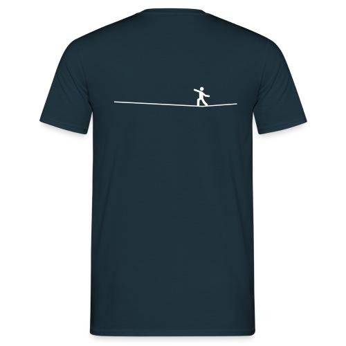 White Slackliner - Männer T-Shirt
