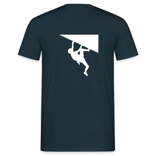White Climber T-Shirt - Männer T-Shirt