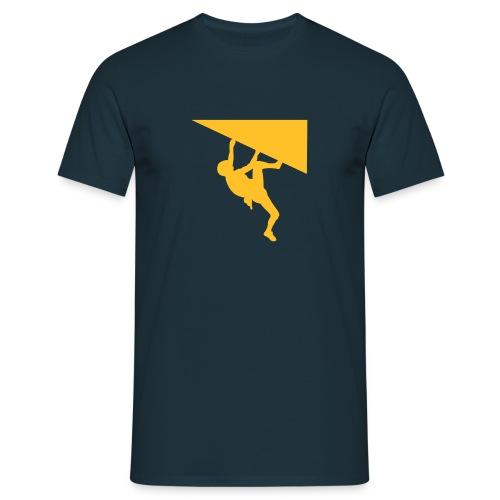 Orange Climber Shirt - Männer T-Shirt