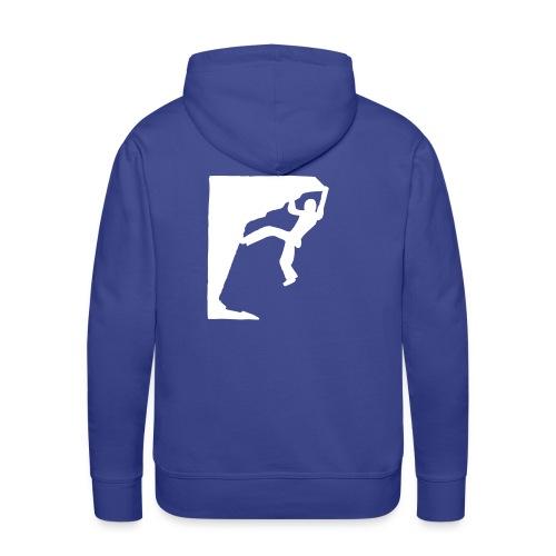 Blue Mountain Pullover - Männer Premium Hoodie