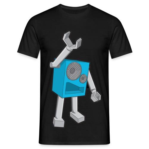 SpeekaBotBlue Men's Dark Classic T-Shirt - Men's T-Shirt
