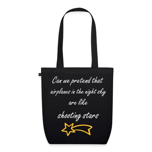 Airplanes lyrics - EarthPositive Tote Bag