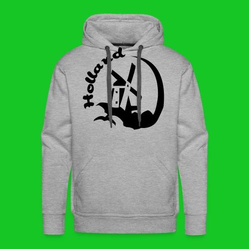 Holland Molen sweater met capuchon - Mannen Premium hoodie