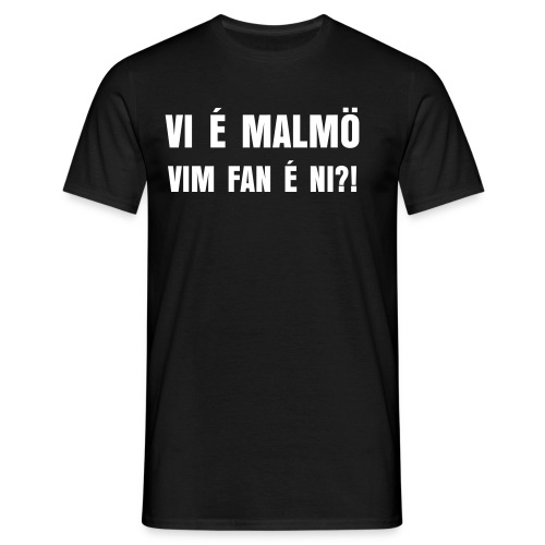 Vim fan é ni - T-shirt herr