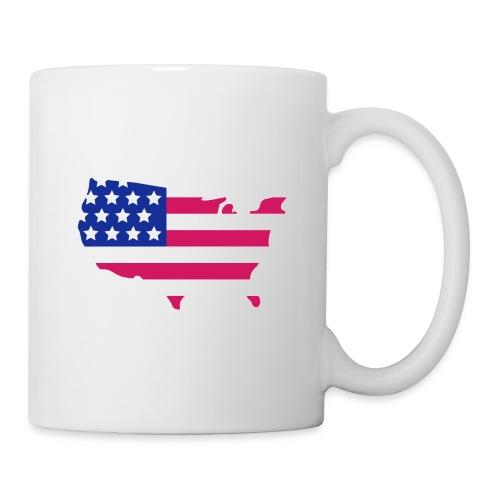 Tasse Mug USA  - Mug blanc